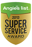 Angie's list super service award logo 2013 BumbleJunk junk removal Baltimore