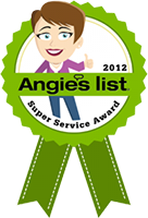 Angie's list super service award logo 2012 BumbleJunk junk removal Baltimore