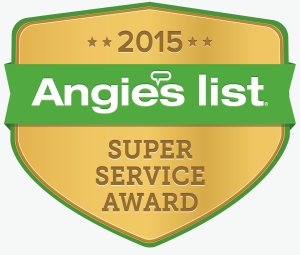 Angie's list super service award logo 2015 BumbleJunk junk removal Baltimore